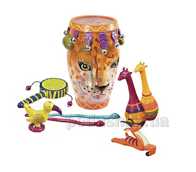 Музыкальная игрушка - Леопард Battat