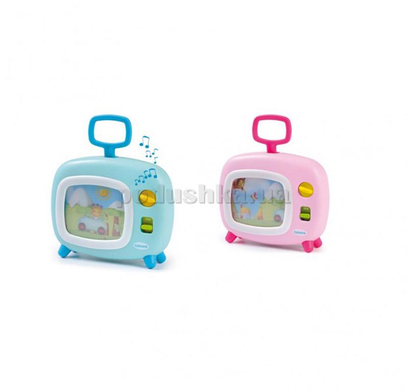 Музыкальная игрушка-подвес на кровать Cotoons Телевизор с движущимся изображением Simba 211316