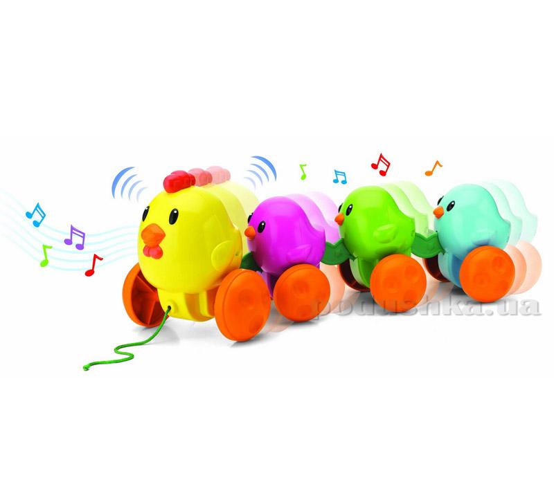 Музыкальная каталка Keenway Цыплята на прогулке