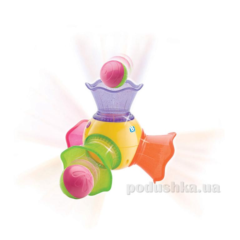 Музыкальная светящаяся труба с шариками Bkids 01752