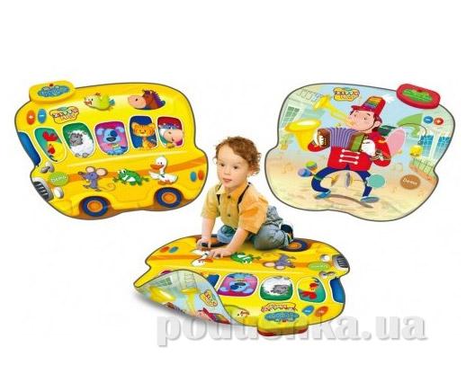 Музыкальный игровой двусторонний коврик Touch&Play Автобус-Музыкант