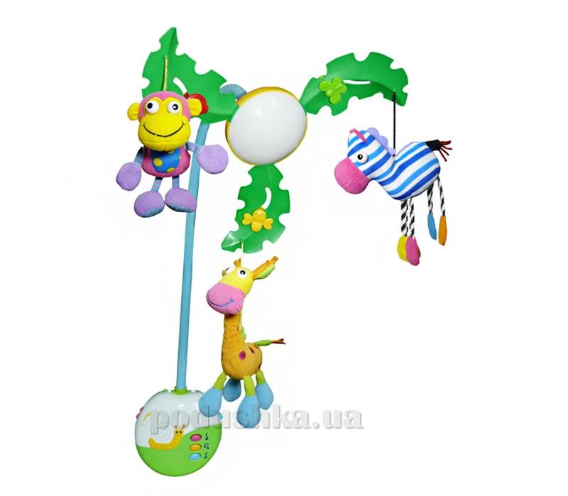 Музыкальный мобиль Biba Toys Пальмовое дерево c LED-подсветкой 067JF