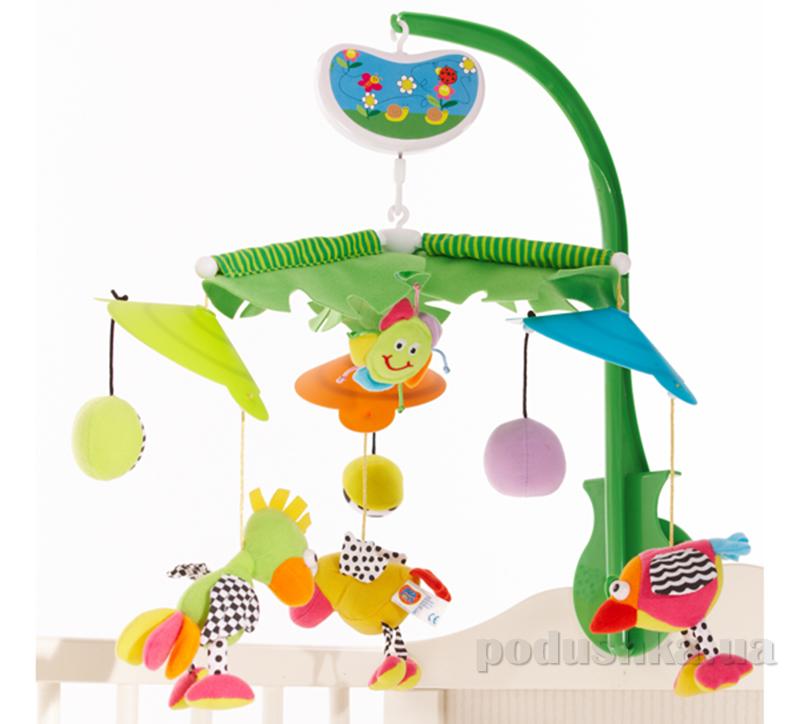 Музыкальный мобиль Biba Toys Райские птички 030GD