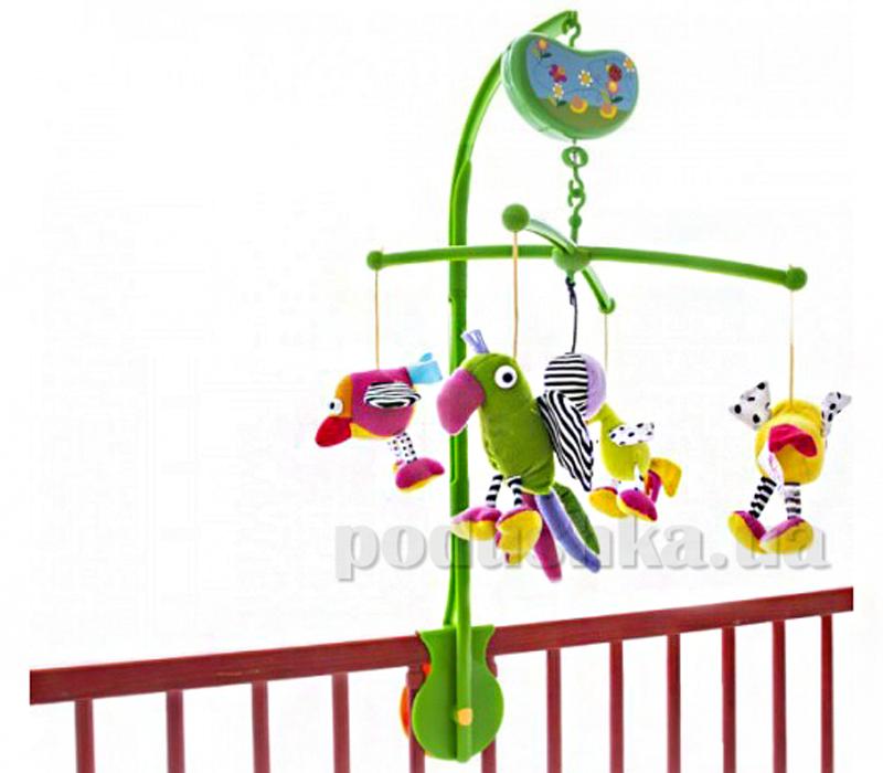 Музыкальный мобиль Biba Toys Счатливые птички 081GD