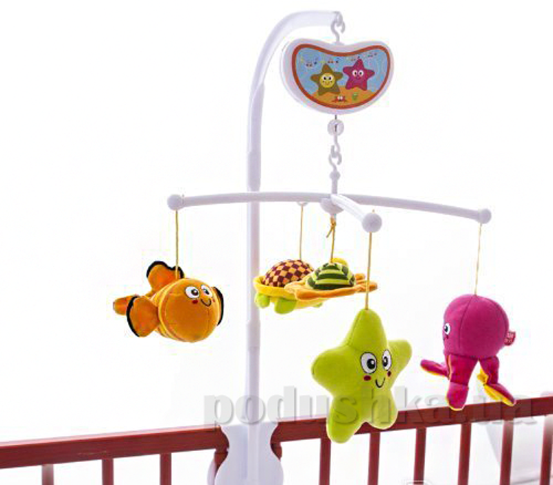 Музыкальный мобиль Biba Toys Водный мир 072BM