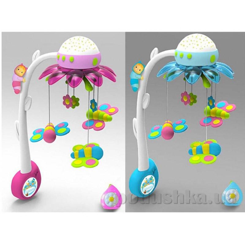 Музыкальный мобиль Cotoons Цветок Smoby 211374