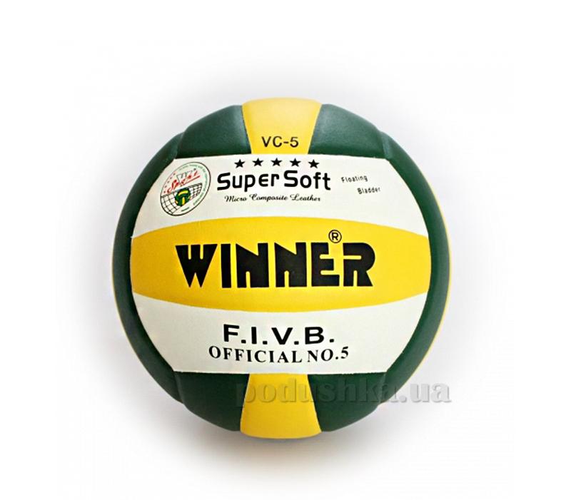 Мяч волейбольный Winner Super Soft VC-5-col