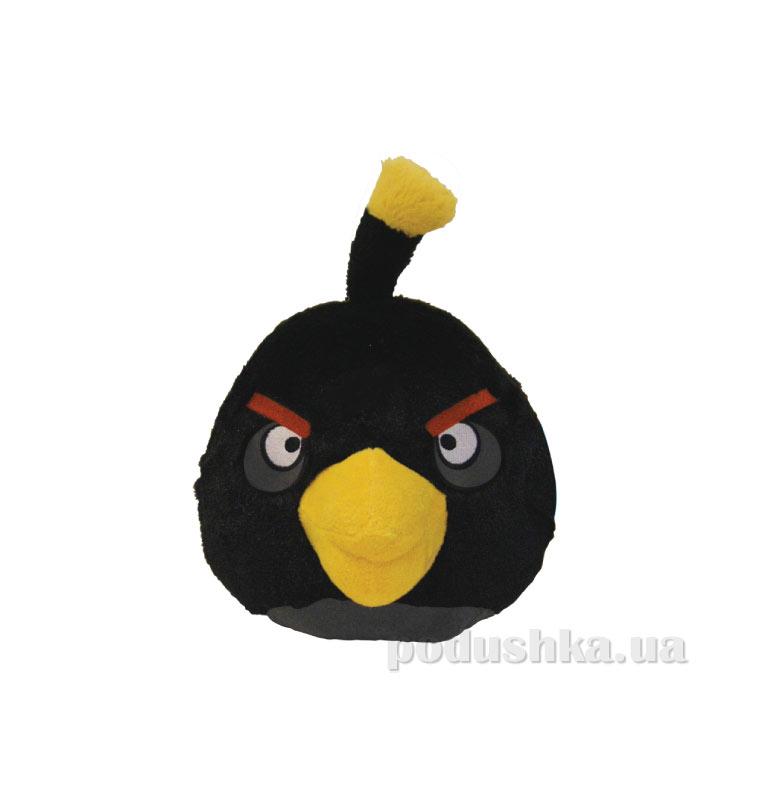 Мягкая игрушка Angry Birds птичка-черная 90839