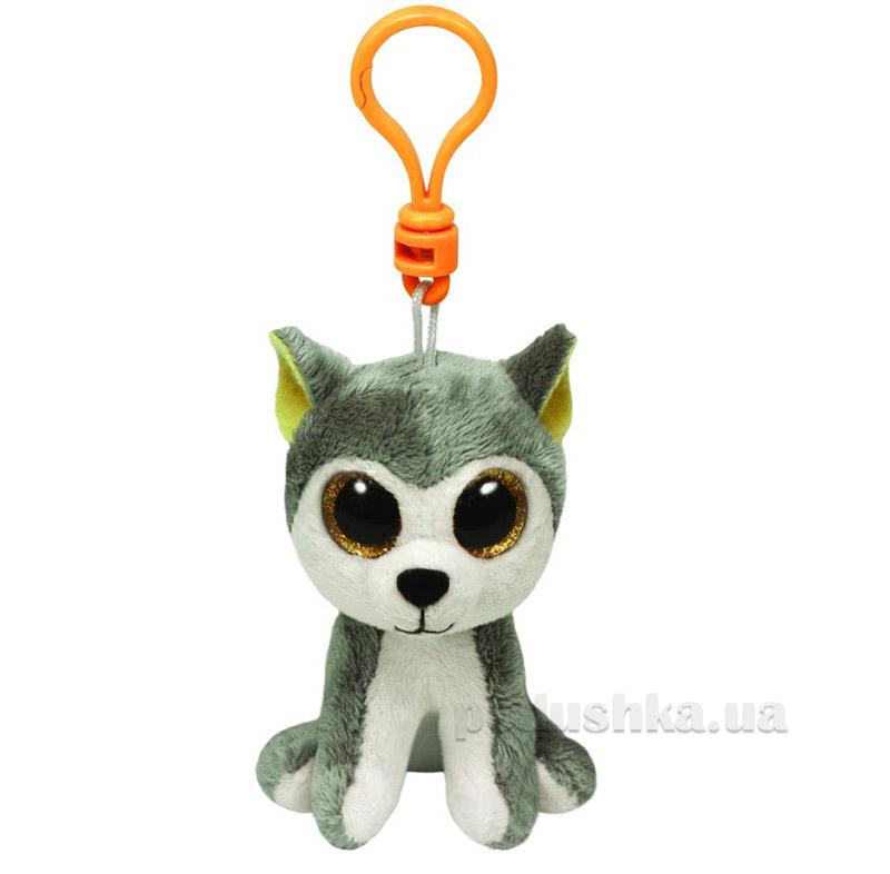 Мягкая игрушка-брелок Beanie Boo's 36503 Хаскі Slush