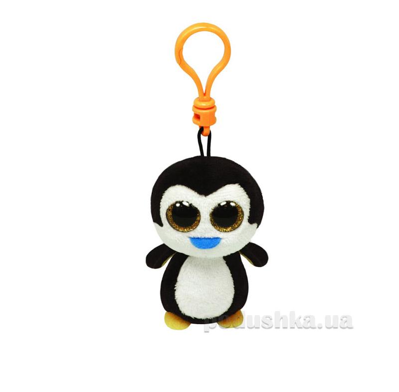 Мягкая игрушка-брелок Beanie Boo's 36505 Пингвин Waddles