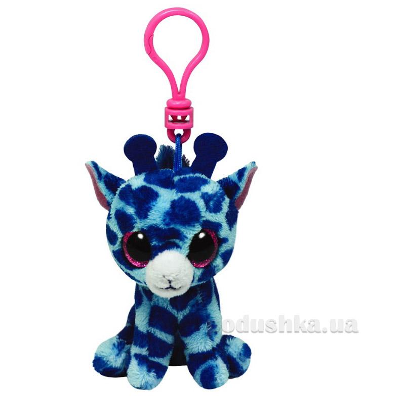 Мягкая игрушка-брелок Beanie Boo's 36507 Жираф Safari