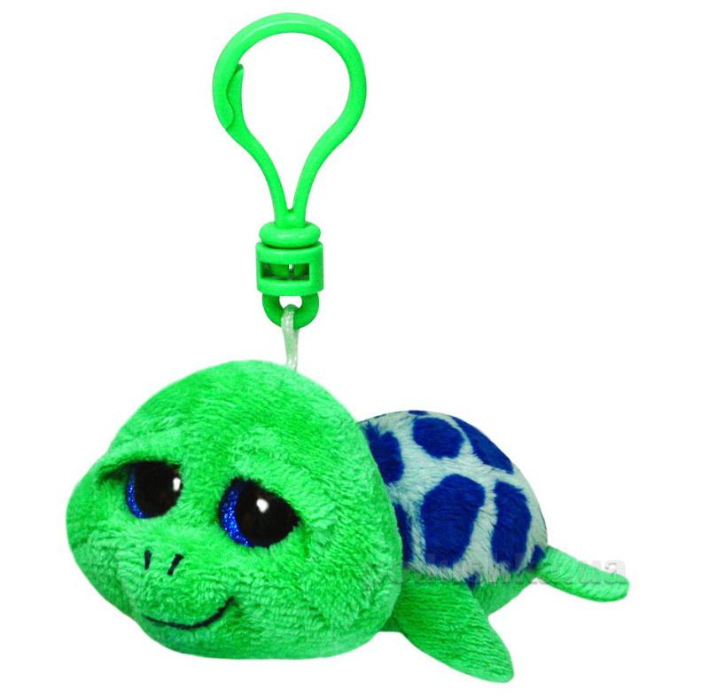 Мягкая игрушка-брелок Beanie Boo's 36589 Черепаха Zippy