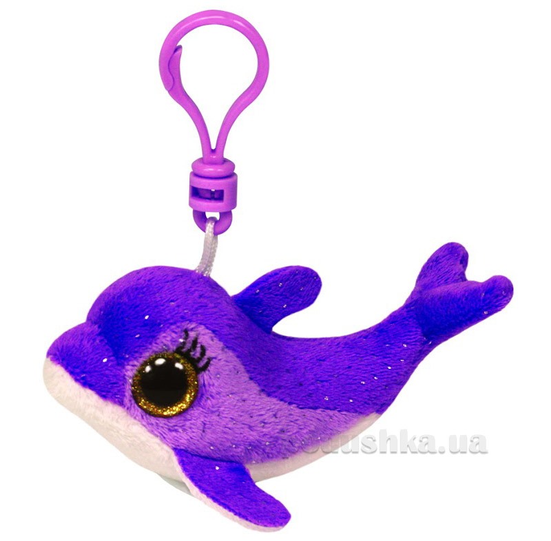Мягкая игрушка-брелок Beanie Boo's 36596 Дельфин Surf