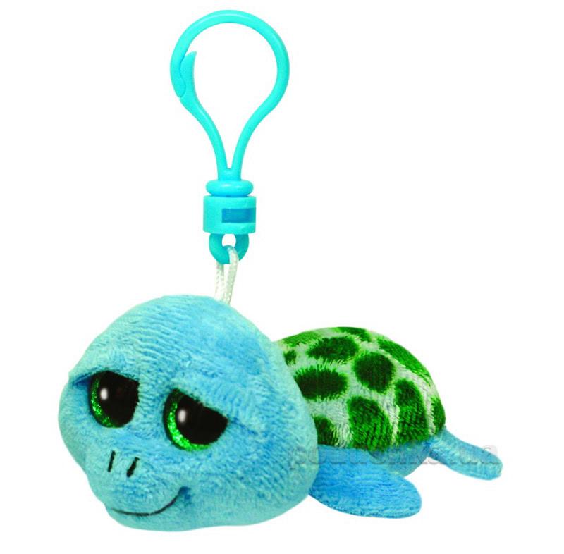 Мягкая игрушка-брелок Beanie Boo's 36597 Черепаха Pokey