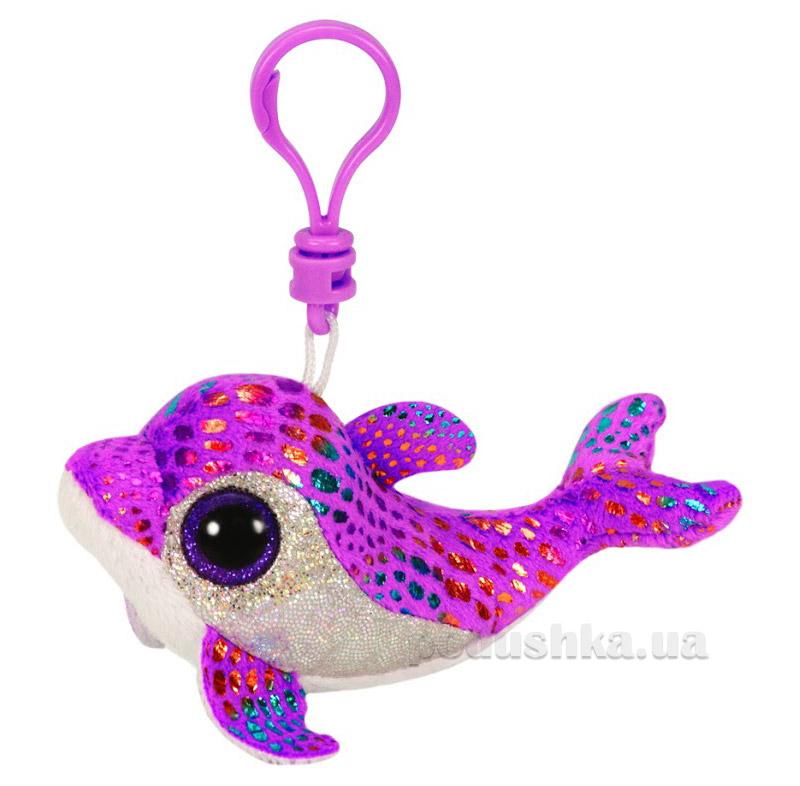 Мягкая игрушка-брелок Beanie Boo's 36605 Дельфин Sparkles