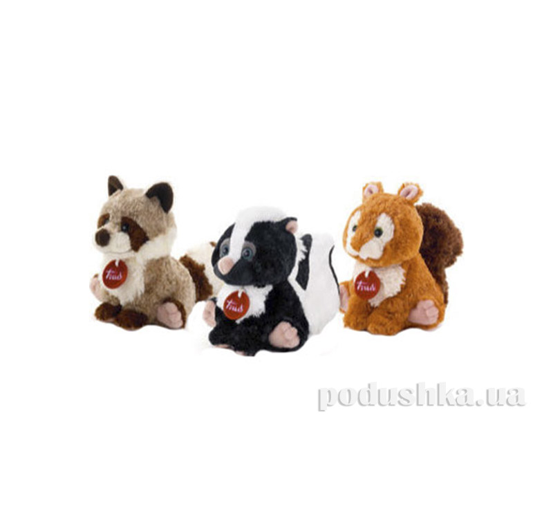 Мягкая игрушка Белка Клайд 18 см Trudi 24030/2423-015