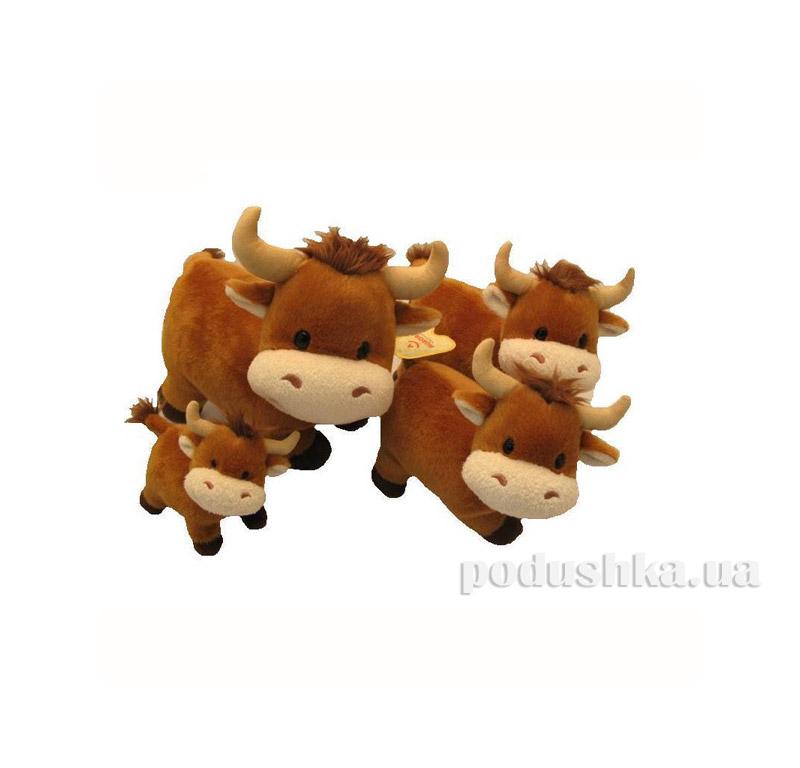 Мягкая игрушка Бычок стоячий 24 см AURORA 80422A