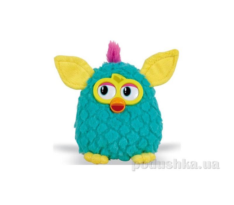 Мягкая игрушка Ферби бирюзовый с желтыми ушками 20см