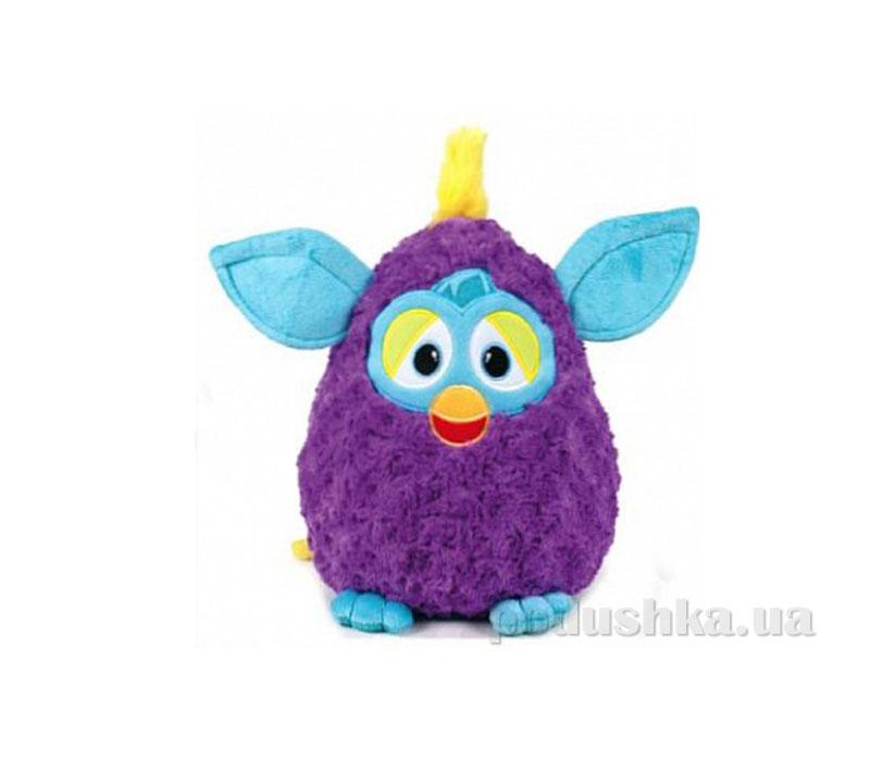 Мягкая игрушка Ферби фиолетовый с бирюзовыми ушками