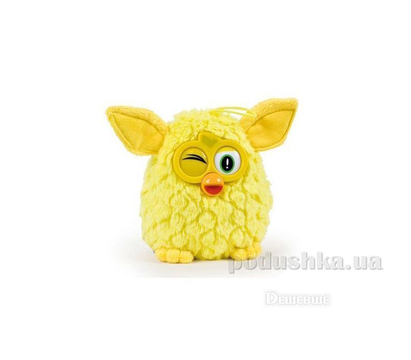 Мягкая игрушка Ферби желтый 20 см