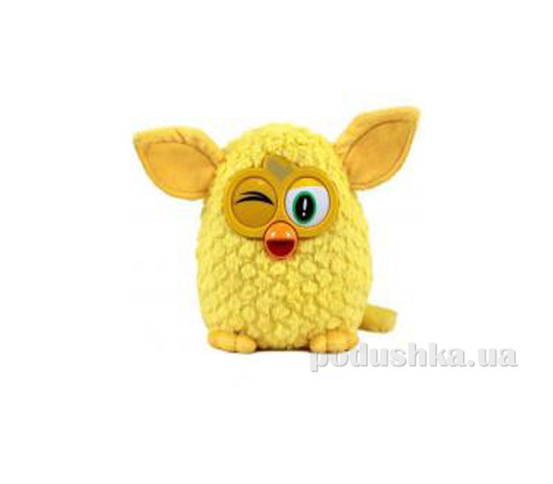 Мягкая игрушка Ферби желтый 29 см