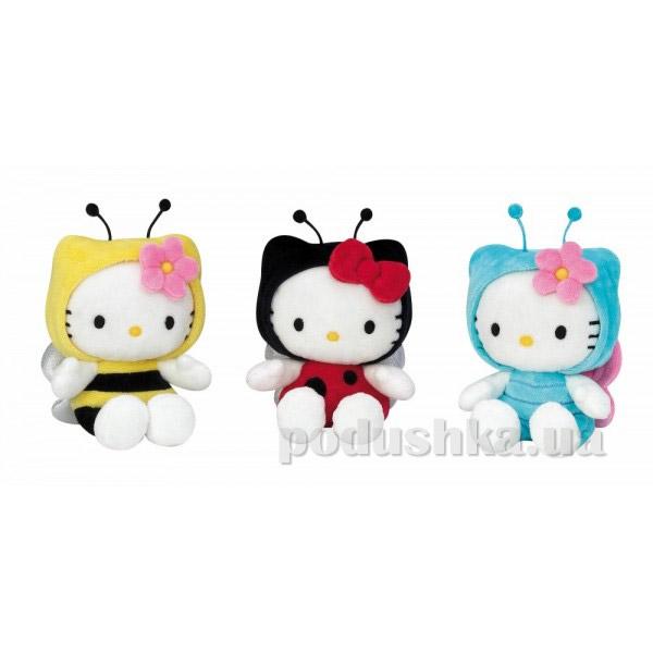 Мягкая игрушка Hello Kitty 15 см в костюме насекомого
