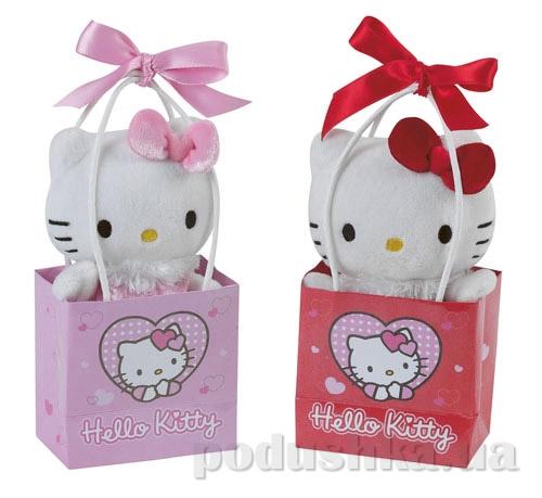 Мягкая игрушка Hello Kitty мини 14 см в подарочном пакетике