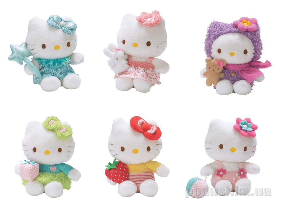 Мягкая игрушка Hello Kitty мини 15 см  150633