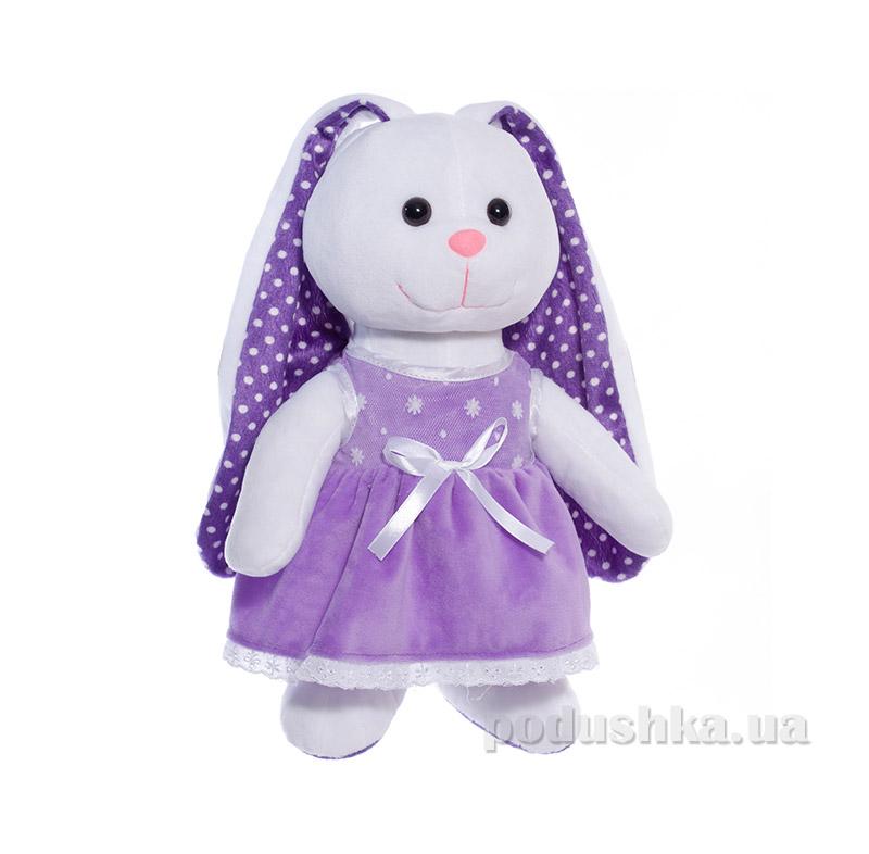 Мягкая игрушка Копица 00043-08 Зайчик фиолетовый