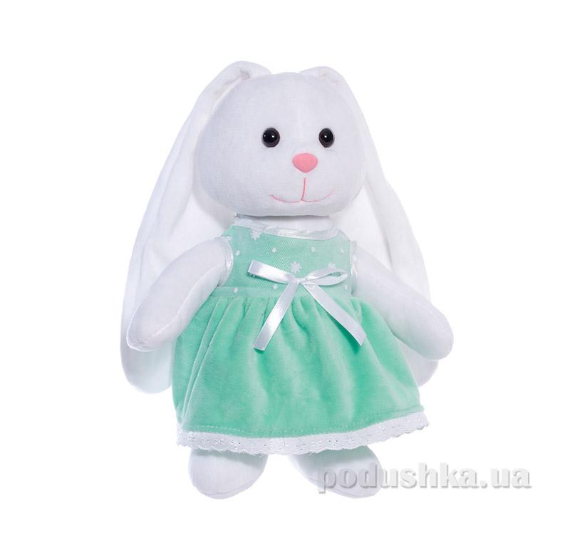 Мягкая игрушка Копица 00043-08 Зайчик зеленый