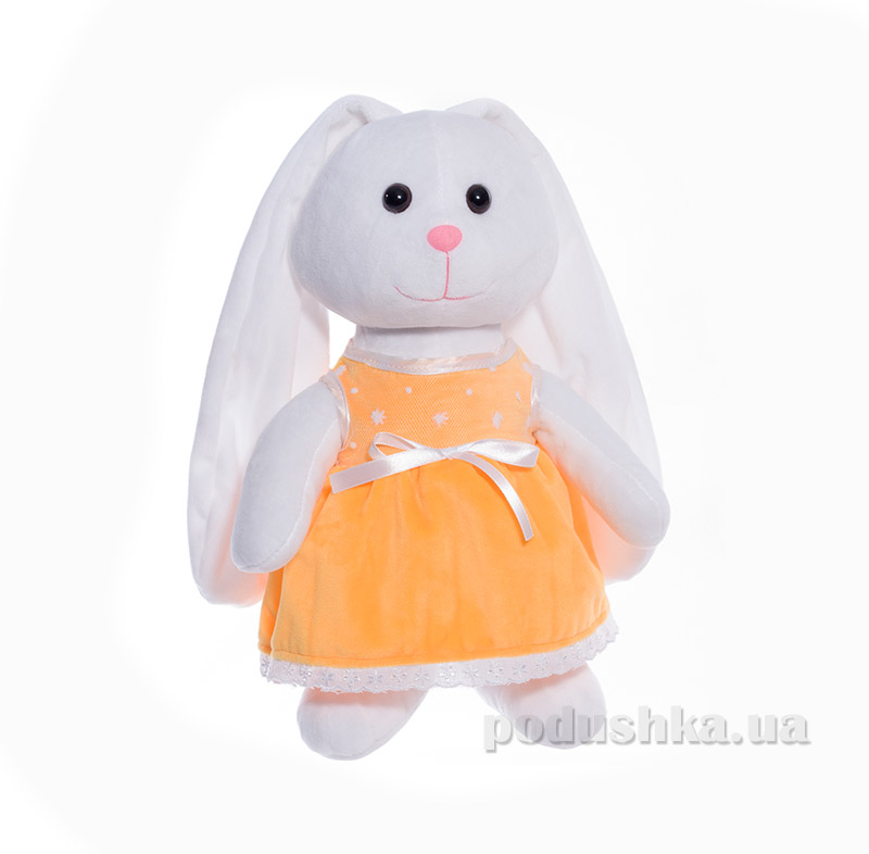 Мягкая игрушка Копица 00043-08 Зайчик желтый