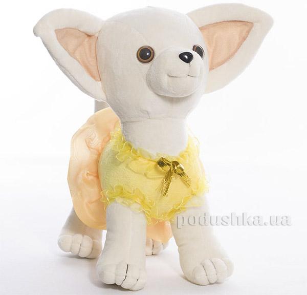 Мягкая игрушка Копица 00112-12 Пес Крошка желтый