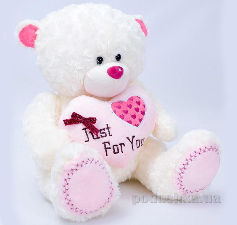 Мягкая игрушка Копица Мишка с сердцем