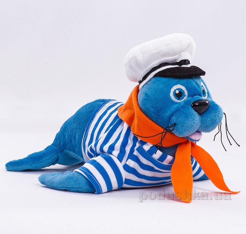 Мягкая игрушка Копица Морской лев морячок   Копица