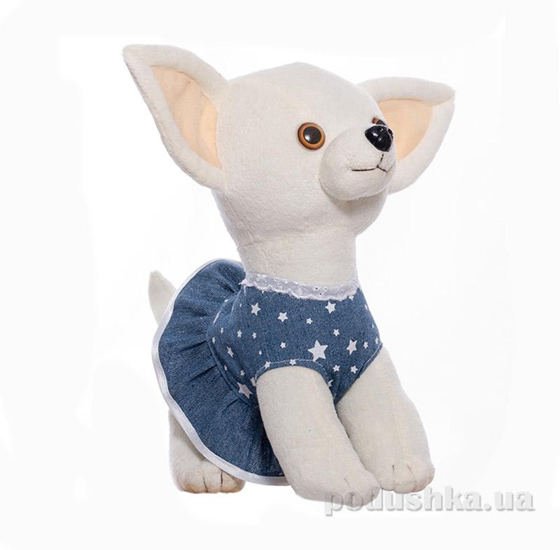 Мягкая игрушка Копица Пес Крошка 00112-12 серый