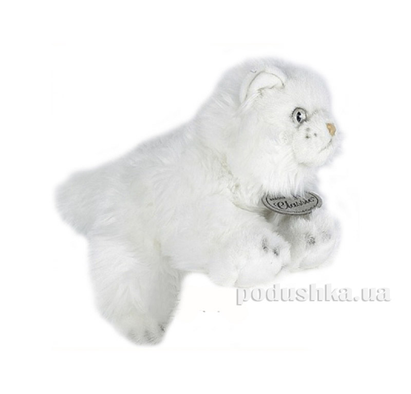 Мягкая игрушка Кошка персидская белая 25 см Aurora K9810344