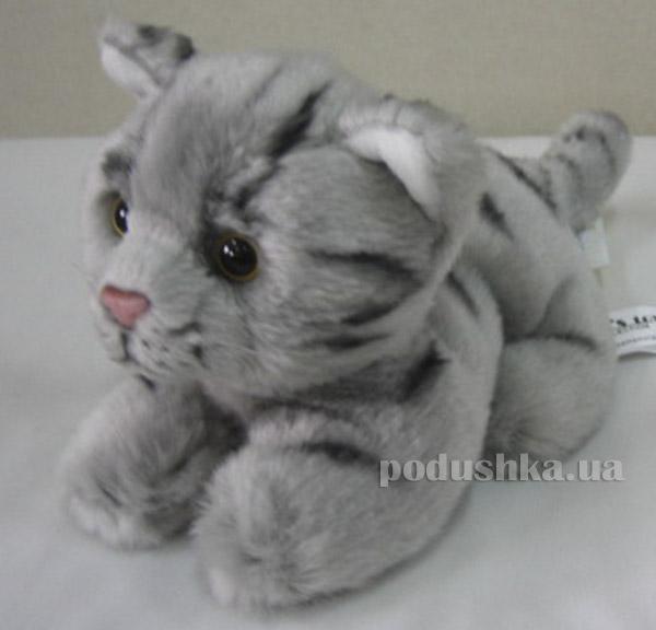 Мягкая игрушка Кошка полосатая DEVIK toys  JC-650GT(SV)