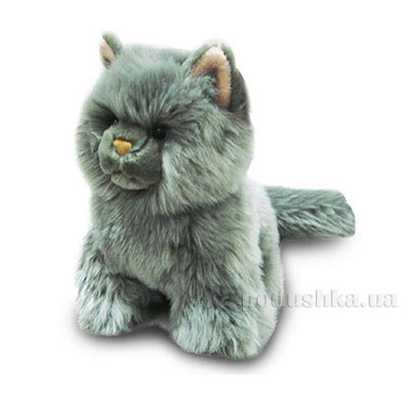 Мягкая игрушка Кошка серая сидячая DEVIK toys IPD-055A-08