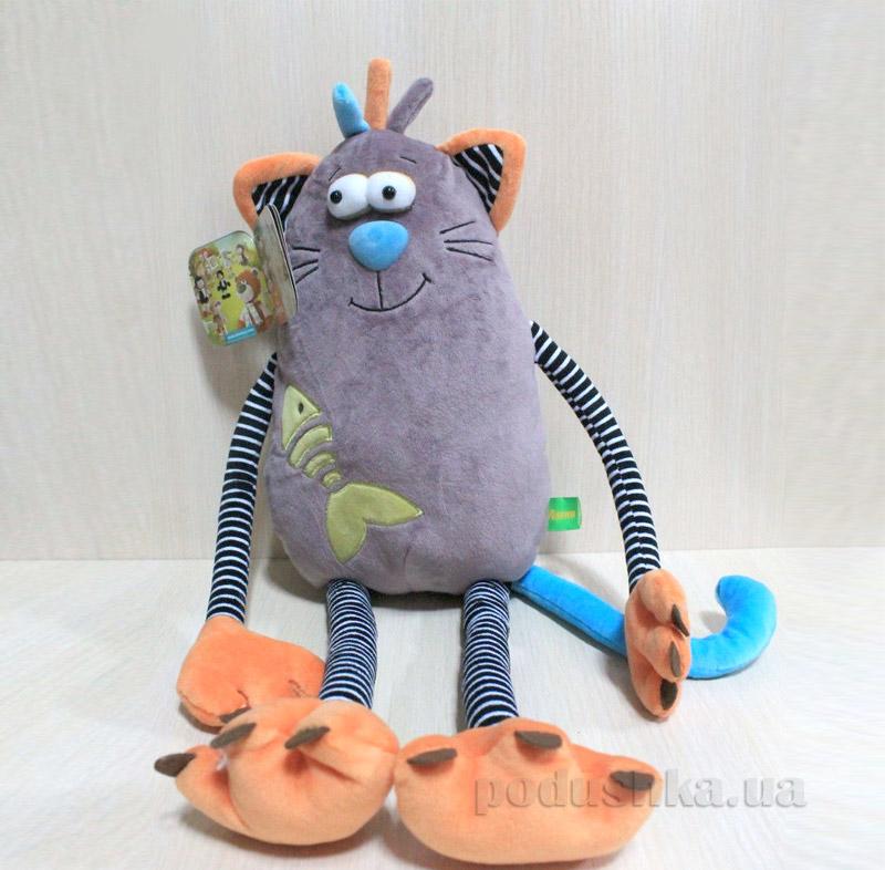 Мягкая игрушка Котик Баюн ТМ Левеня К399А