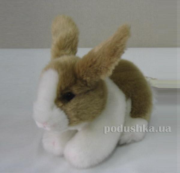 Мягкая игрушка Кролик коричневый лежачий DEVIK toys JO-413BR