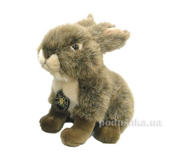 Мягкая игрушка Кролик коричневый сидячий  DEVIK toys IPF-005A-07