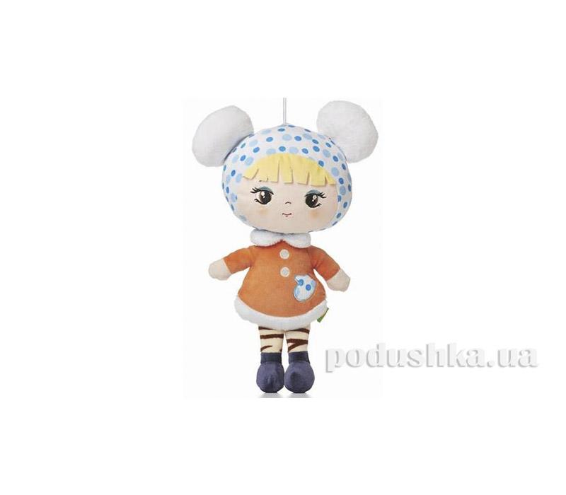 Мягкая игрушка Кукла Ника зимняя Левеня K376T   ТМ Левеня