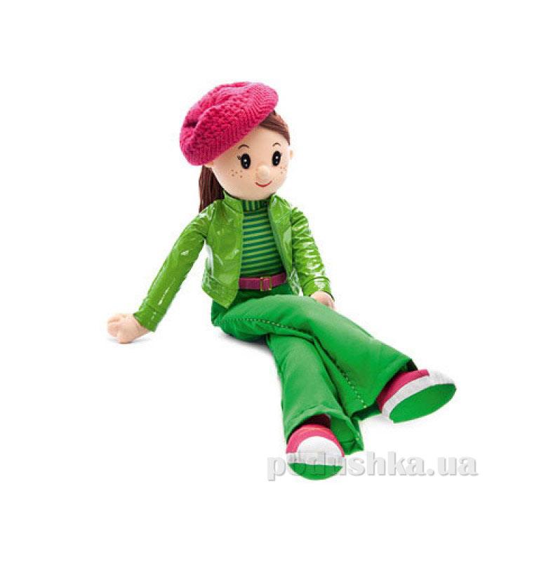 Мягкая игрушка Кукла Вероника в беретке музыкальная LF1153