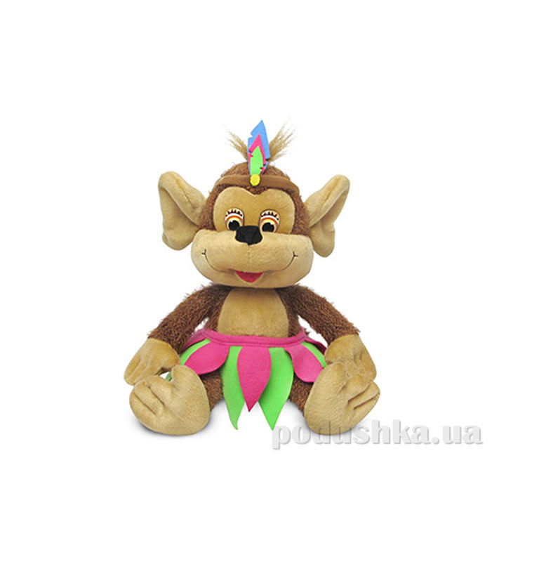 Мягкая игрушка Мартышка-Папуаска lava