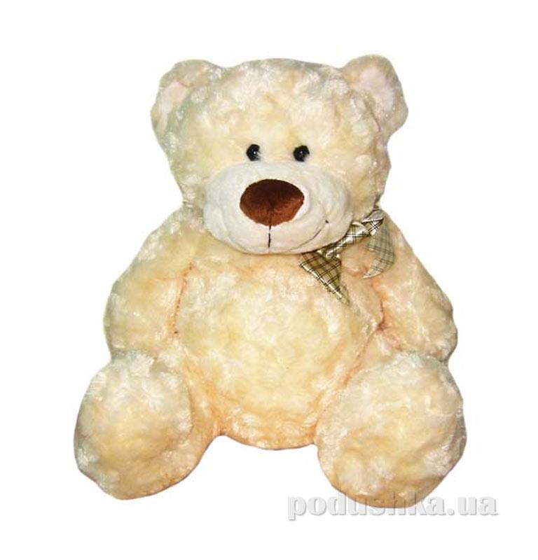 Мягкая игрушка Медведь белый, с бантом 40см 4002GM