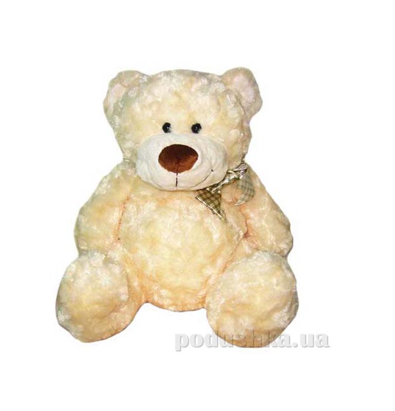 Мягкая игрушка Медведь белый с бантом Grand