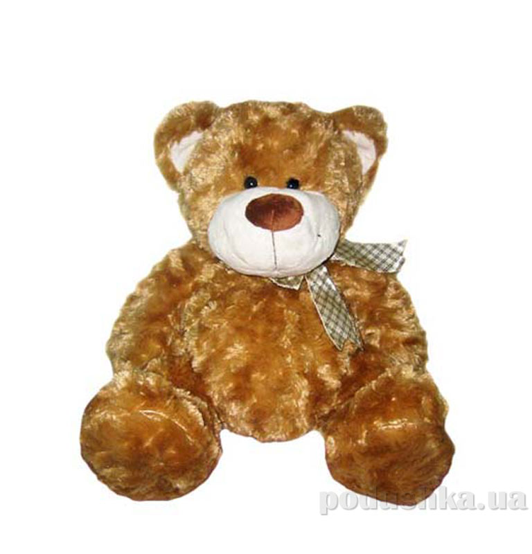Мягкая игрушка Медведь коричневый, с бантом 40см 4001GMC