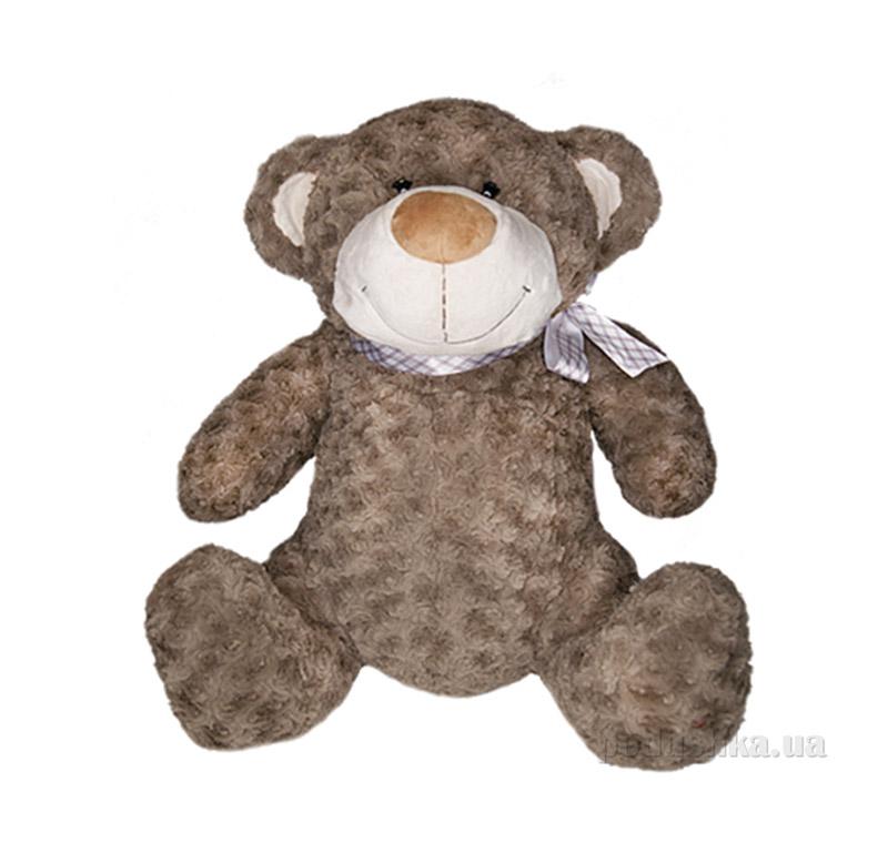 Мягкая игрушка Медведь коричневый с бантом Grand