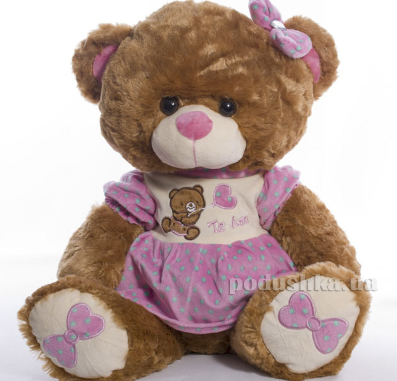 Мягкая игрушка Медведь праздничный Копица 21035
