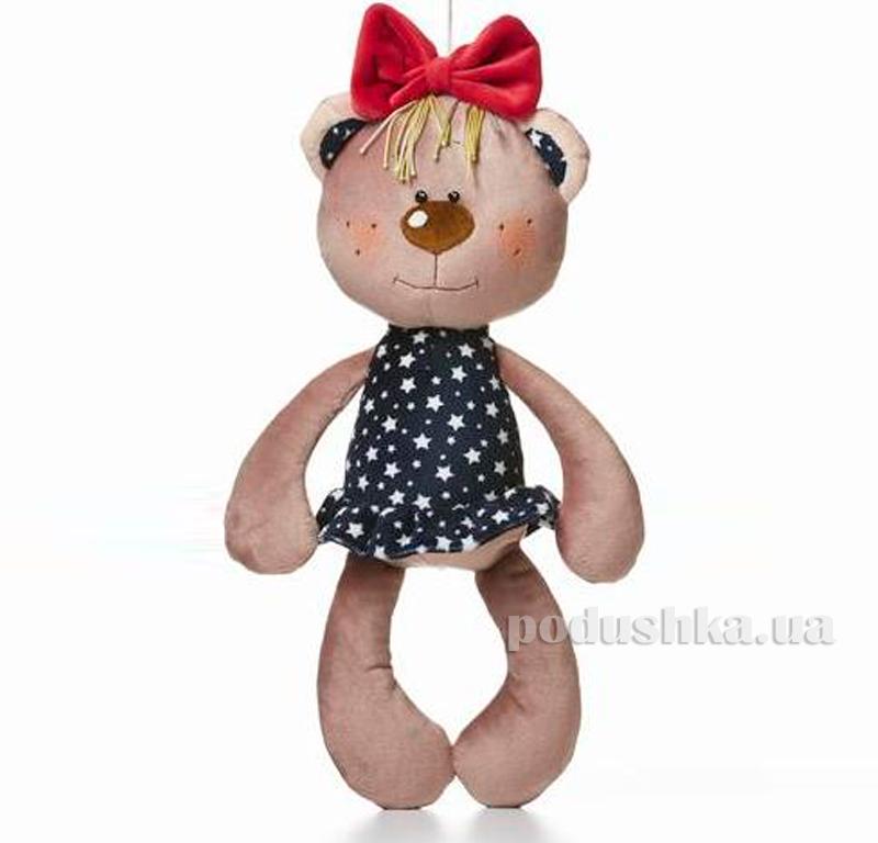 Мягкая игрушка Медведь Викки Левеня K383A